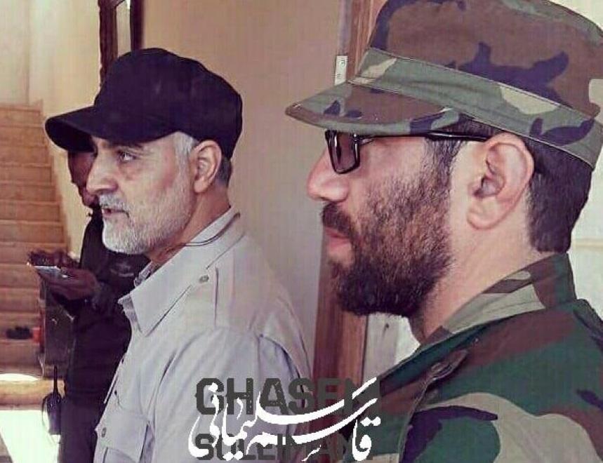 وداع با یکی از بهترین فرماندهان سردار سلیمانی +فیلم