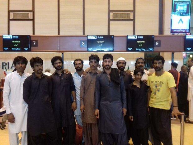 آزادی ۱۰ ملوان ایرانی از زندانهای پاکستان