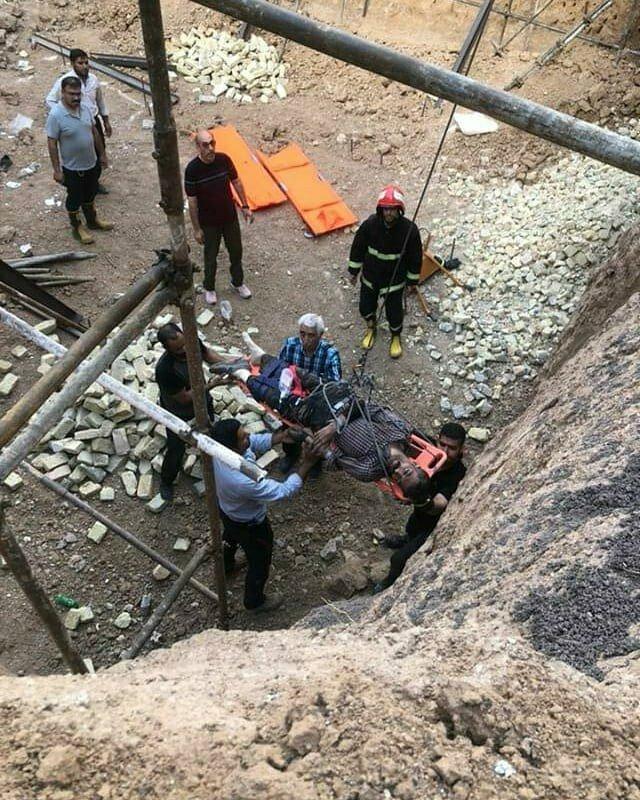 جان باختن یک نفر بر اثر ریزش آوار ساختمانی در شهر زنجان