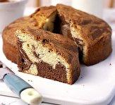 باشگاه خبرنگاران -نان موزی با طرح شکلات مرمری + دستور تهیه