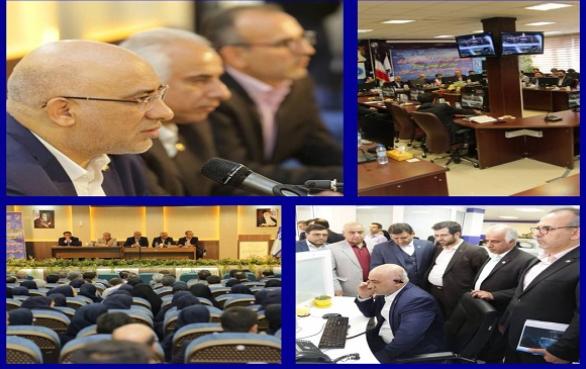 وضعیت شبکه و عملکرد مخابرات منطقه البرز با حضور مدیرعامل شرکت مخابرات ایران بررسی شد