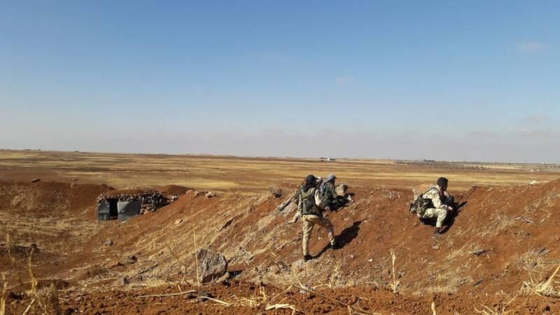 وقتی خواب از چشمان تروریستها ربوده میشود / این شهر به قبرستان متجاوزان در شمال سوریه تبدیل میشود! + تصاویر و نقشه میدانی
