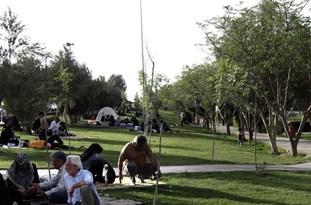 بهبود وضعیت پارک کوثر شهر ایلام