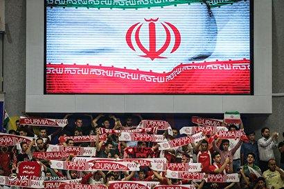 لیگ والیبال ملتها/ ایران ۳ - کانادا ۰