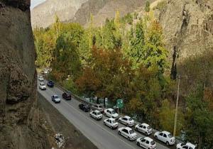 پایان محدودیت ترافیکی در جادههای منتهی به شمال