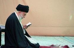 حضور رهبر انقلاب در مسجد مقدس جمکران