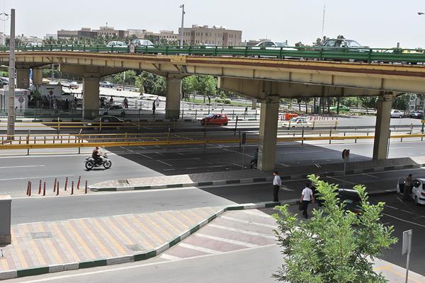ارائه محدودیت ترافیکی پل گیشا از چند روز آینده