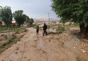 خسارت بارندگی در دامغان