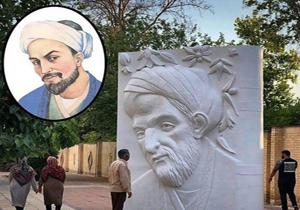 پاسخ شهرداری درخصوص شباهت نداشتن المان سعدی با تصاویر موجود از این شاعر پرآوازه/المان سعدی شیرازی جمع آوری شد