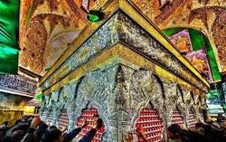 تصاویر دیده نشده از داخل ضریح امام حسین(ع)+فیلم