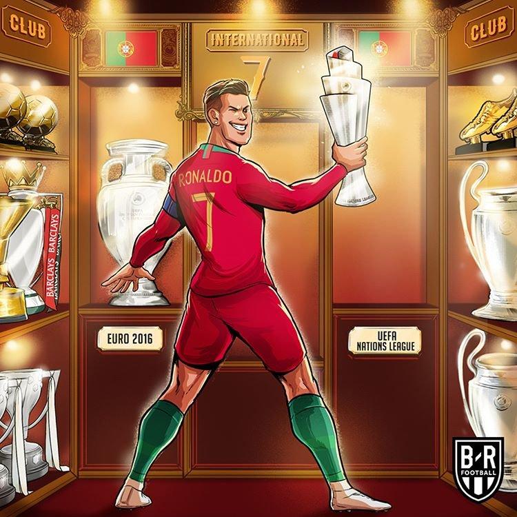 ژست جدید فوتبالیست مشهور + تصویر
