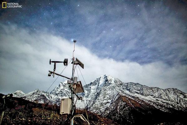 راهاندازی بلندترین ایستگاه هواشناسی جهان در رشته کوههای هیمالیا