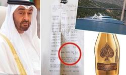 بریز و بپاش خاندان حاکم امارات برای یک شب خوشگذرانی در کرواسی