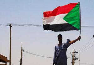 تجمع تظاهرکنندگان سودانی مقابل سفارت عربستان