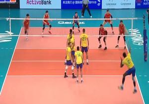 خلاصه والیبال برزیل و چین در ۲۵ خرداد ۹۸ + فیلم