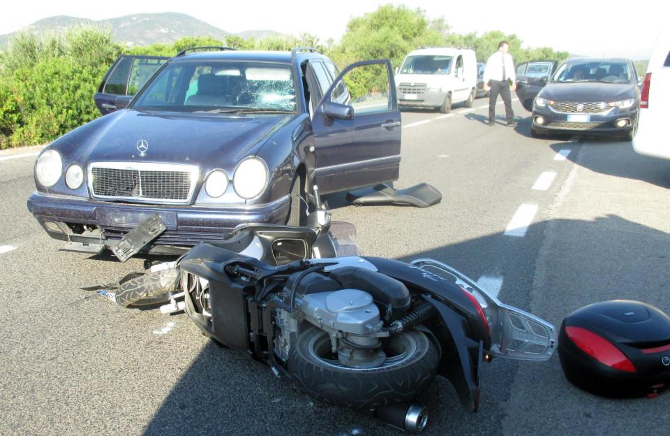 جرج کلونی از تصادف موتور سواری اش میگوید