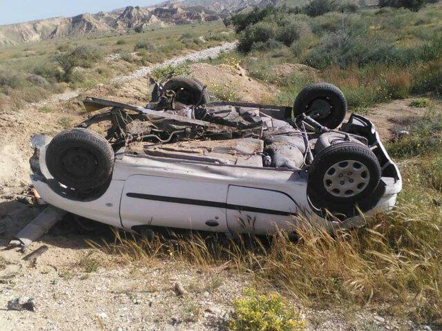تصادف منجر به مرگ و ۴ حادثه واژگونی در جادههای استان همدان