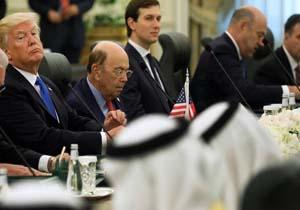 تیغ ترامپ زیر گلوی سران کشورهای عربی