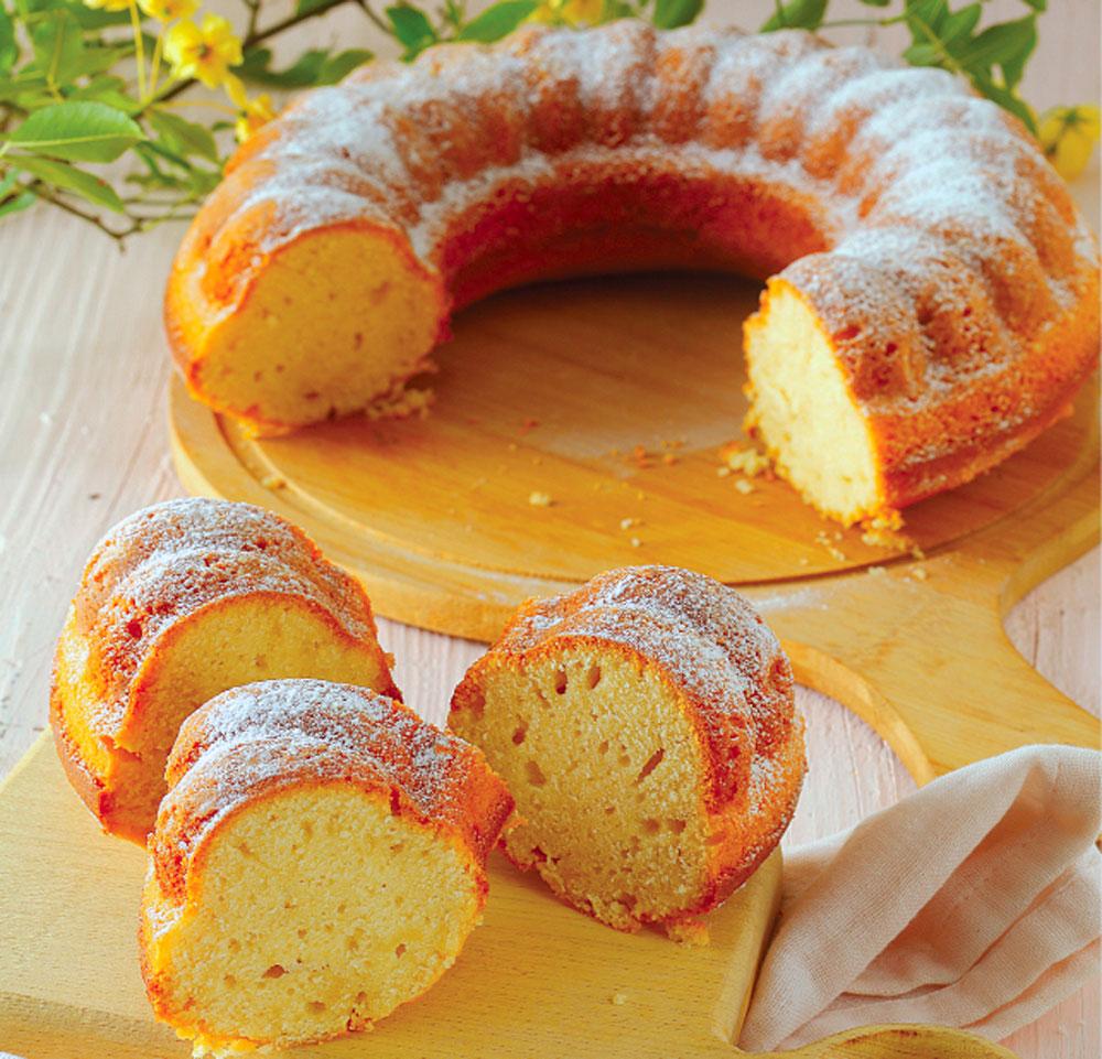 کیک ماست ایتالیایی