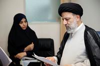 بازدید سرزده حجت الاسلام و المسلمین رئیسی از مرکز ارتباطات مردمی قوه قضاییه