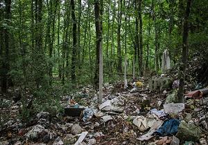 دپوی زباله در طبیعت زیبای سوادکوه + فیلم