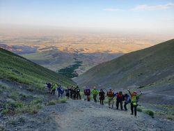 صعود کوهنوردان فریمانی به قلل برفریز و کان مس نیشابور