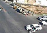 باشگاه خبرنگاران -عاقبت عبور از چراغ قرمز توسط موتورسیکلت! + فیلم