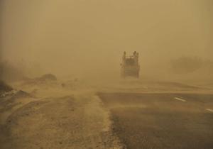 گرد وغبار دید افقی در زاهدان را به ۴۰۰۰ متر کاهش داد
