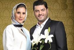 موتورسواری سام درخشانی همراه همسرش در خیابانهای تهران +فیلم