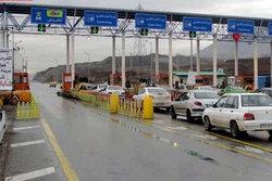 اخذ عوارض براساس پیمایش در ۲ آزادراه کرج-قزوین و تهران-ساوه