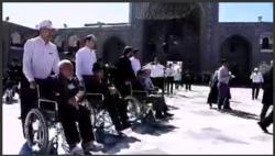 صحنه هایی از خدمت کریمانه خادمان رضوی در طرح «معین الضعفا»+فیلم
