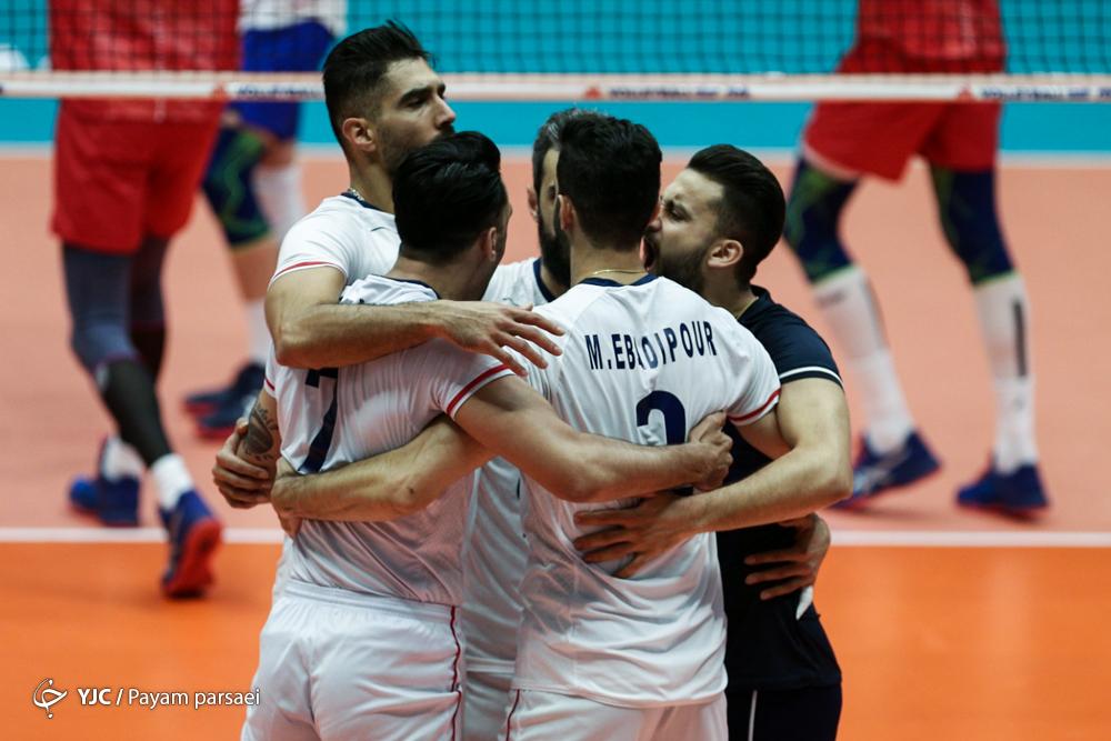 هفته سوم لیگ ملتهای والیبال / گزارش لحظه به لحظه /ایران ۲ - روسیه ۰