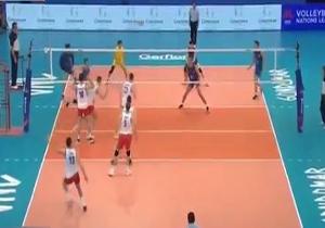 خلاصه والیبال صربستان و چین در ۲۶ خرداد ۹۸ + فیلم