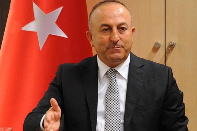 چاووش اوغلو: ایران و روسیه از حملات ارتش سوریه به نیروهای ترکیه جلوگیری کنند