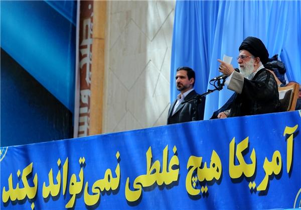 واشنگتن پست: سخنان رهبر ایران بازتاب سخن «آمریکا هیچ غلطی نمیتواند بکند» بود