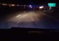 دشواری تردد از جاده ناهموار در ملایر به توره + فیلم