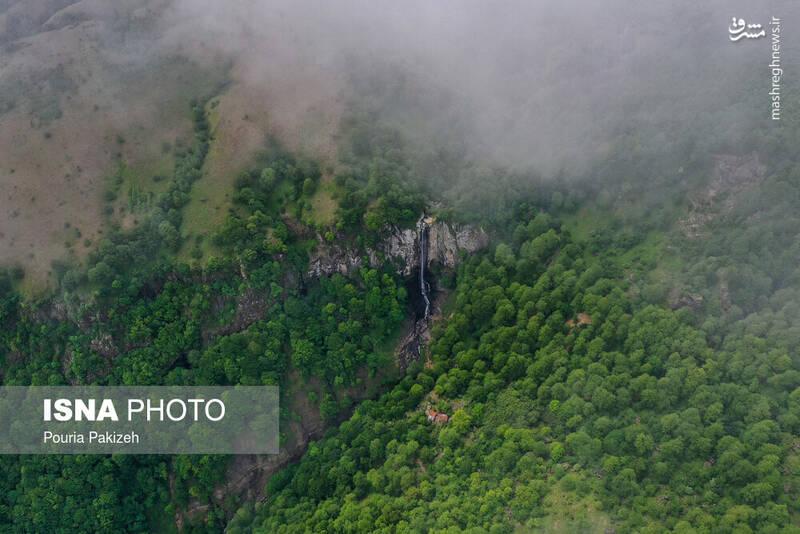 بلندترین آبشار ایران +عکس