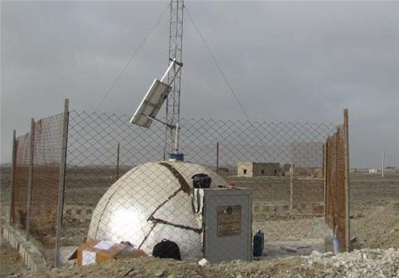 نصب دستگاه لرزه نگاری در شهرستان کوهبنان