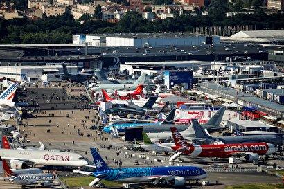 افتتاح نمایشگاه هوایی پاریس۲۰۱۹