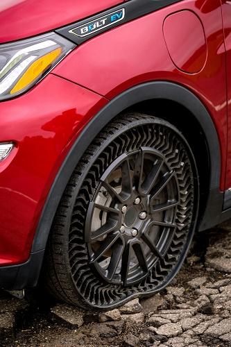 جنرال موتورز تایرهای توخالی و بدون هوا تولید خواهد کرد