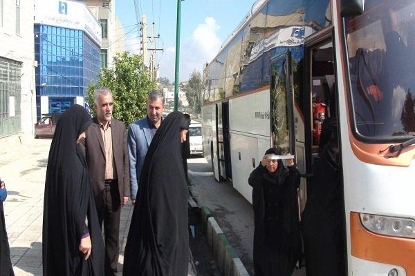 اعزام بیش از ۶۰۰ مددجوی ایلامی به سفر زیارتی مشهد مقدس