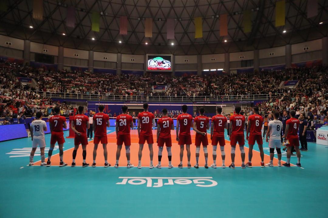 برنامه دیدارهای ایران در هفته چهارم لیگ ملتهای والیبال