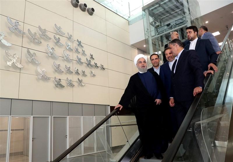 رئیس جمهور ترمینال «سلام» را افتتاح کرد