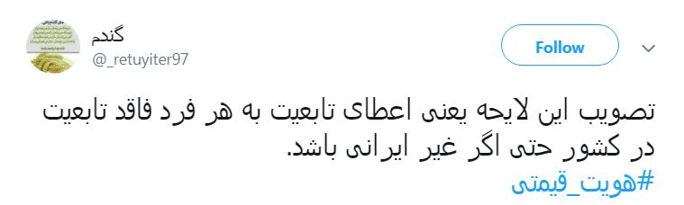 #هویت_قیمتی/ ضربههایی که از دوتابعیتیها خوردیم کم نبوده  است!