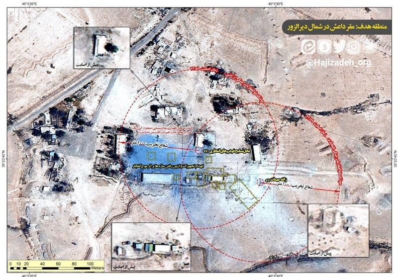 تصاویر دیده نشده از عملیات موشکی و مهم سپاه پاسداران علیه داعش