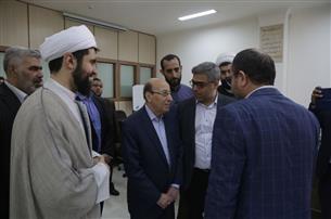 بازدید تولیت حرم حضرت زینب (س) از دانشگاه علوم اسلامی رضوی