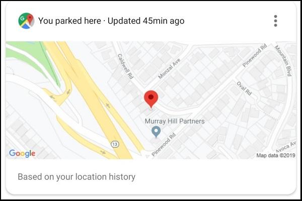 با دستیار هوشمند گوگل هیچگاه جای پای خودرو خود را فراموش نمیکنید
