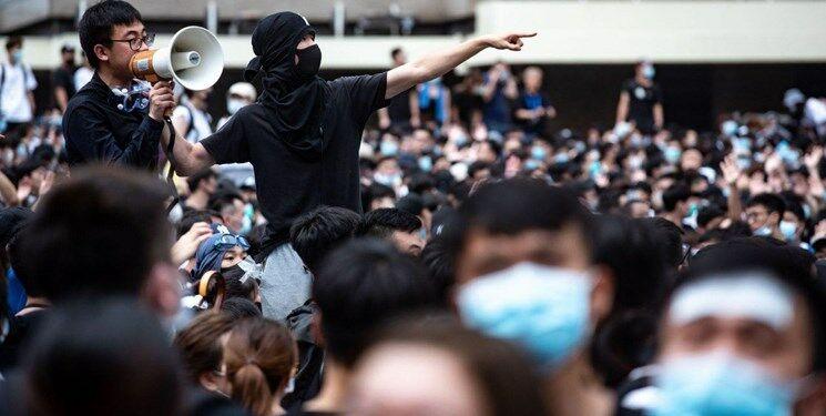 ردپای آمریکا در اعتراضهای تنش آلود هنگکنگ /  لایحه استرداد متوقف شد!