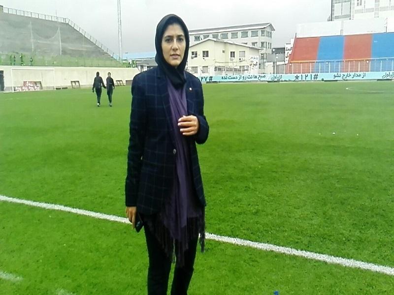 آذری: شاید در هفته بیست و یکم فوتبال بانوان مقابل تیم بم حاضر نشویم