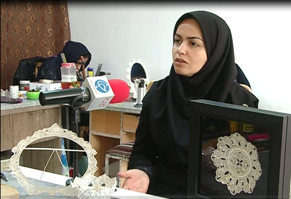آغاز به کار نمایشگاه صنایع دستی و مشاغل خانگی در زنجان